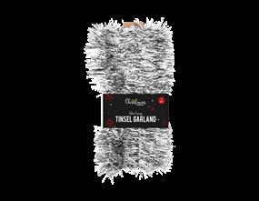 Wholesale Silver Tinsel Garlands | Gem Imports Ltd