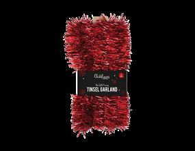 Wholesale Red Tinsel Garlands | Gem Imports Ltd