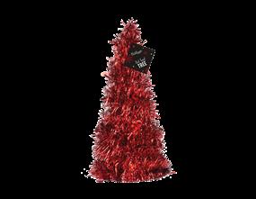 Wholesale Red Tinsel Tree | Gem Imports Ltd