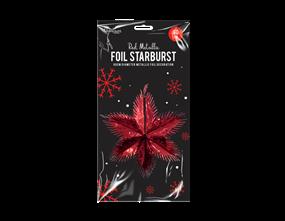 Wholesale Red Foil Starbursts | Gem Imports Ltd
