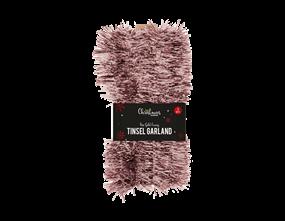 Wholesale Rose Gold Tinsel Garlands | Gem Imports Ltd