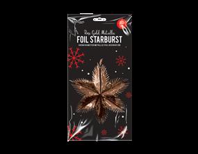 Wholesale Rose Gold Foil Starbursts | Gem Imports Ltd
