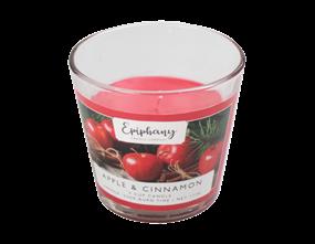 Wholesale Apple & Cinnamon V Cup Candle | Gem Imports Ltd