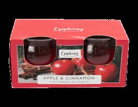 Wholesale Apple & Cinnamon Bakery Jar Candles | Gem Imports Ltd