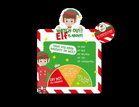Wholesale Christmas Elf Behaviour Barometer  | Gem Imports Ltd