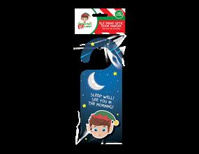 Wholesale Christmas Elf Fibre Optic Door Hanger | Gem Imports Ltd