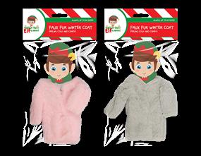 Wholesale Christmas Elf Faux Fur Winter Coat | Gem Imports Ltd