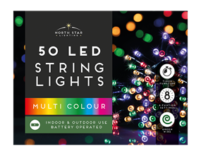 Wholesale Led Battery Operated Timelights Multicoloured | Gem Imports Ltd