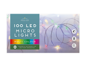 Wholesale Led Battery Operated Micro Lights Multicoloured | Gem Imports Ltd