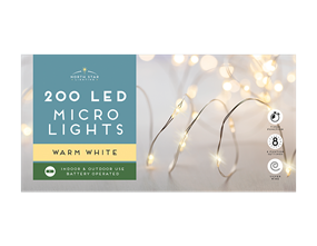 Wholesale Micro Led Battery Operated Lights Warm White | Gem Imports Ltd