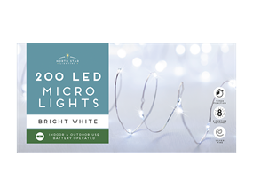 Wholesale Micro Led Battery Operated Lights Bright White | Gem Imports Ltd