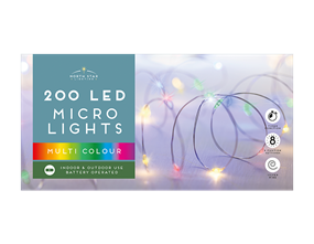 Wholesale Micro Led Battery Operated Lights Multicoloured | Gem Imports Ltd
