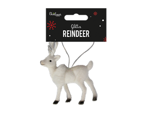 Wholesale Christmas Deer Hanging Decoration | Gem Imports Ltd