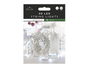 Wholesale Led Battery Operated String Lights Bright White | Gem Imports Ltd