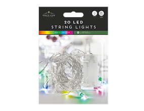 Wholesale Led Battery Operated String Lights Multicoloured | Gem Imports Ltd