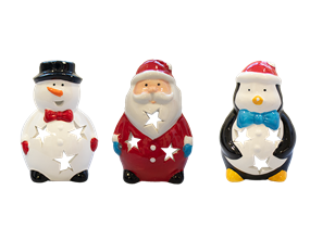 Wholesale Novelty Christmas Tea Light Holder  | Gem Imports Ltd