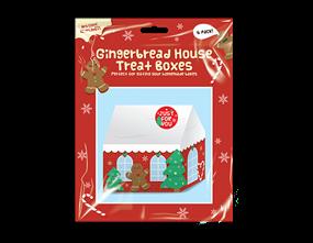 Wholesale Christmas Gingerbread House Treat Boxes | Gem Imports Ltd
