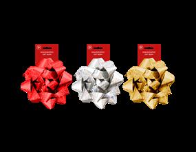 Wholesale Christmas Holographic Gift Bow | Gem Imports Ltd