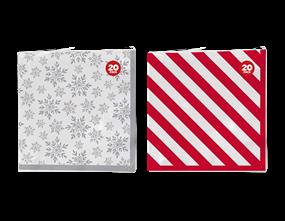 Wholesale Christmas Printed Paper Napkins | Gem Imports Ltd
