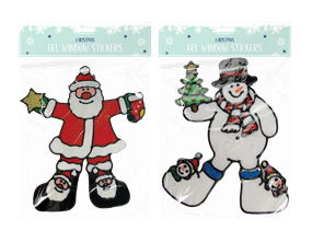 Wholesale Christmas Window Stickers | Gem Imports Ltd