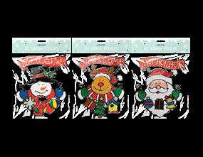Wholesale Xmas Figures Window Stickers | Gem Imports Ltd