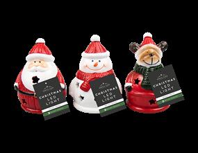 Wholesale Led Ceramic Xmas Ornament | Gem Imports Ltd