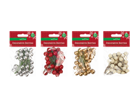 Wholesale Christmas Small Decorative Berries | Gem Imports Ltd