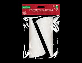 Wholesale Christmas Polystyrene Cones | Gem Imports Ltd