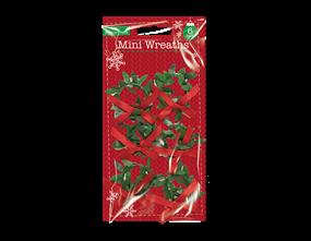 Wholesale Christmas Mini Wreaths | Gem Imports Ltd