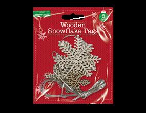 Wholesale Glitter Snowflake Tags  | Gem Imports Ltd