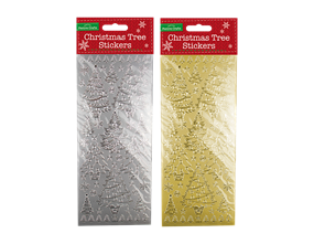 Wholesale Christmas Outline Stickers | Gem Imports Ltd
