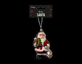 Wholesale Metallic Santa Decoration  | Gem Imports Ltd