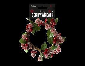 Wholesale Christmas Berry Wreath Decoration | Gem Imports Ltd
