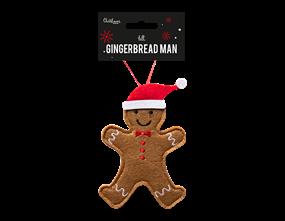 Wholesale Felt Gingerbread Man Decoration | Gem Imports Ltd