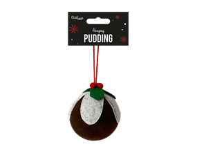 Wholesale Christmas Pudding Decoration 8cm | Gem Imports Ltd