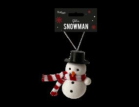 Wholesale Glittered Snowman Dec | Gem Imports Ltd