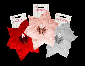 Wholesale Poinsettia Clip | Gem Imports Ltd