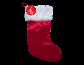 Wholesale Luxury Christmas Stocking 48cm x 19cm | Gem Imports Ltd