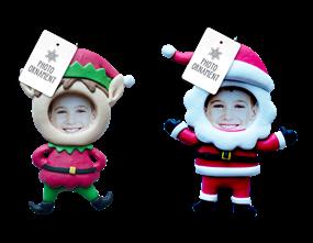 Wholesale Xmas Figure Photo Ornament | Gem Imports Ltd