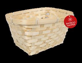 Wholesale Bamboo Woven Hamper Basket   Gem Imports Ltd