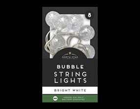 Wholesale Bubble String Lights - 8 Leds | Gem Imports Ltd