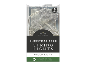 Wholesale Xmas Tree String Lights - 8 Leds | Gem Imports Ltd