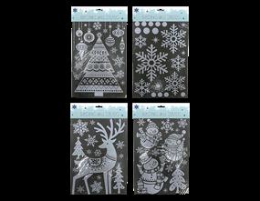 Wholesale Xmas White Window Stickers | Gem Imports Ltd