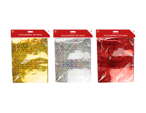 Wholesale Holographic Large Gift Bags 2 Pack   Gem Imports Ltd