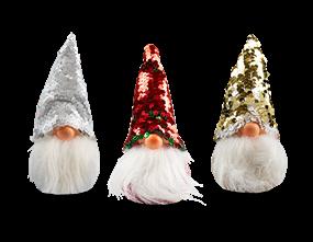 Wholesale Sequin Hat Gonk Ornament | Gem Imports Ltd