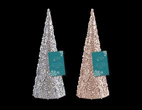 Wholesale Glitter/Pearl Christmas Tree Ornament 30cm | Gem Imports Ltd