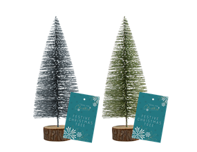 Wholesale Bottle Brush Xmas Tree Dec 16cm | Gem Imports Ltd