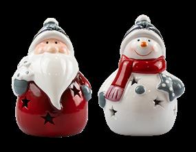 Wholesale Ceramic Christmas LED Ornament | Gem Imports Ltd