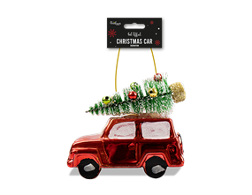 Wholesale Metallic Car Tree Decoration 11cm | Gem Imports Ltd