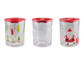 Wholesale Christmas Printed Storage Container | Gem Imports Ltd
